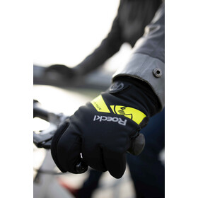 Roeckl Villach Handschuhe black/yellow